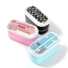 Trendy Double-Decker Bento Box