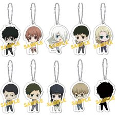 Devil's Line Acrylic Keychain Charm Collection