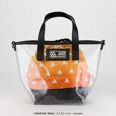 Demon Slayer: Kimetsu no Yaiba Zenitsu Agatsuma Clear Bag with Pouch