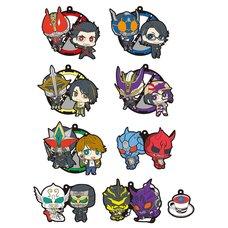 Kamen Rider Den-O 10th Anniversary Rubber Mascot Box Set