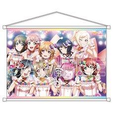 Love Live! Nijigasaki High School Idol Club Love U My Friends B2-Size Tapestry