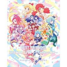 TV Anime Data Carddass Aikatsu Friends! Best Friends! Special Live Thanks⇄OK Live Blu-ray (2-Disc Set)