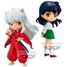 Q Posket Inuyasha Inuyasha & Kagome Higurashi