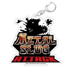 Metal Slug Attack Title Logo Acrylic Keychain