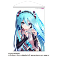 Hatsune Miku takepon Ver. B2-Size Wall Scroll
