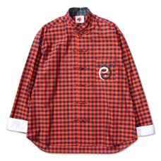PDS Orange China Check Shirt