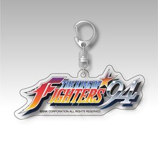 The King of Fighters '94 Title Logo Acrylic Keychain
