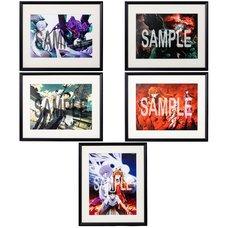 Yoshiyuki Sadamoto Neon Genesis Evangelion B4-Size Reproduction Art Print