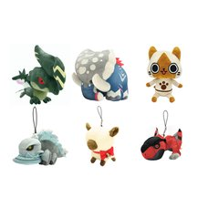 Monster Hunter Plush Set B