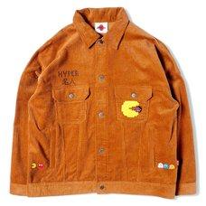 [PDS x Pac-Man] Master Beige Corduroy Jacket