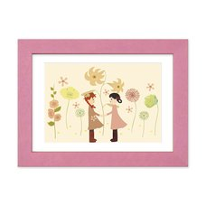 """Anne & Diana"" Chara Fine Graph Dina*Dina Masterpiece Pictures Print"
