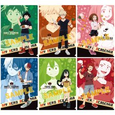 My Hero Academia Curry Clear File Collection