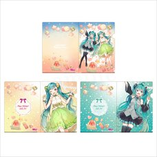 Hatsune Miku Birthday Party Clear File Set: Miku BD 2020 Ver.