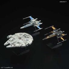 Star Wars: The Last Jedi 1/144 & 1/350 Resistance Vehicle Set