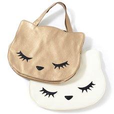 Osumashi Pooh-chan Mini Bags (Bronze & Ivory)