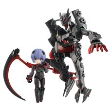 Desktop Army Rebuild of Evangelion Rei Ayanami (Tentative Name) & First Adams' Vessel