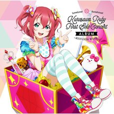 RED GEM WINK | Love Live! Sunshine!! Ruby Kurosawa First Solo Concert Album (2-Disc Set)