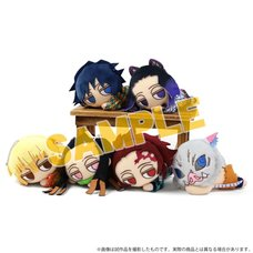 Demon Slayer: Kimetsu no Yaiba Darunui Plush Keychain Collection