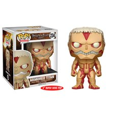 "Pop! Animation: Attack on Titan - Armored Titan (6"" Super Sized Pop!)"