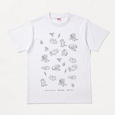 Monster Hunter Rise Gorogoro Otomo Line Art T-Shirt