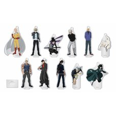 One-Punch Man Arcylic Stand Keychain Charm Collection Box Set