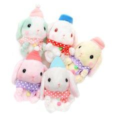 Pote Usa Loppy Snowman Rabbit Plush Collection (Standard)