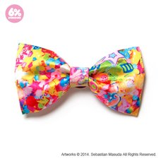 6%DOKIDOKI Colorful Rebellion Big Ribbon Clip & Brooch