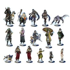 Monster Hunter Rise Characters Acrylic Stand Collection