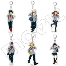 My Hero Academia Acrylic Keychain Collection