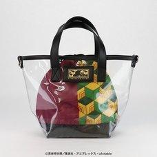 Demon Slayer: Kimetsu no Yaiba Giyu Tomioka Clear Bag with Pouch