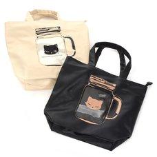 Pooh-chan Mason Jar Tote Bag