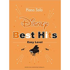 Disney Best Hits 10 Piano Solo: Easy Level (English Ver.)