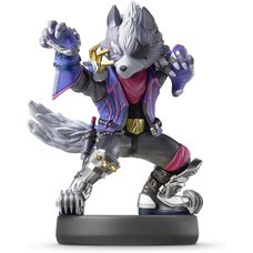 Super Smash Bros. Wolf amiibo