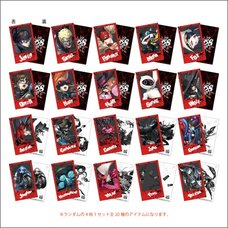 Persona 5 Strikers Polaroid-Style Trading Card Set
