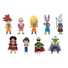 Dragon Ball Z: Battle of Gods World Collectable Figure Box Set