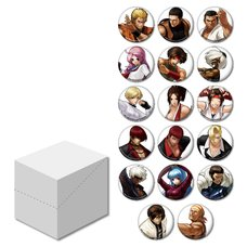 The King of Fighters XIII Trading Pin Badge Vol. 2 Box Set