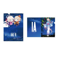 IA & ONE A4 Clear File Set (Tanabata/Yukata Ver. 2)