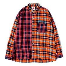 Otaku Orange Flannel Shirt