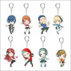 Persona 3: Dancing in Moonlight Chibi Acrylic Keychain Collection