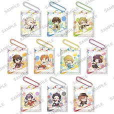 Bungo Stray Dogs Dead Apple Sweets Keychain Box Set