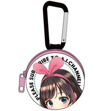 Kizuna AI Full Color Earphone Pouch