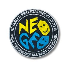 NEOGEO Circle Logo Velcro Patch