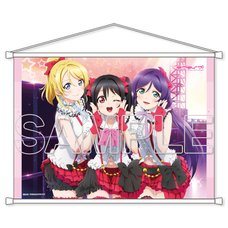 Love Live! Series μ's Third-Year Students B2-Size Tapestry