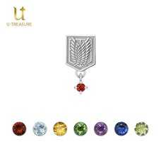 Attack on Titan Wings of Freedom Silver Earring