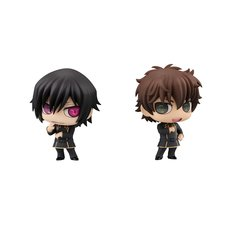 Chimi-Mega Buddy Series Code Geass: Lelouch of the Rebellion Lelouch & Suzaku