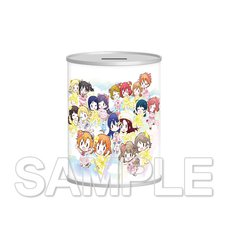 Love Live! Series μ's & Aqours Love Live! Days 1st Anniversary Coin Bank