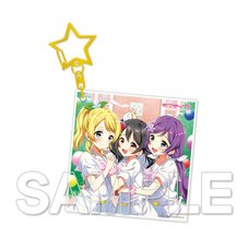 Love Live! μ's Third-Year Students Acrylic Keychain