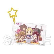 Love Live! Sunshine!! Aqours Riko & Hanamaru & Mari Acrylic Keychain Collection Vol. 3
