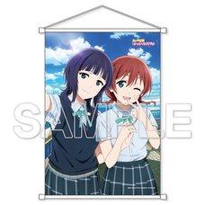 Love Live! Nijigasaki High School Idol Club Karin Asaka & Emma Verde B2-Size Wall Scroll
