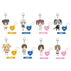 Nendoroid Plus: Idolm@ster Cinderella Girls Keychains w/ Acrylic Stands